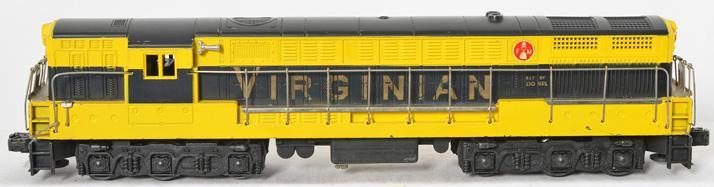 Lionel postwar 2331 Virginian FM trainmaster