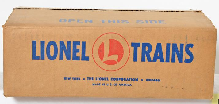 NIB postwar Lionel 460 Piggyback transportation set