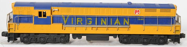 Lionel 2332 Virginian FM Trainmaster with no screw cracks