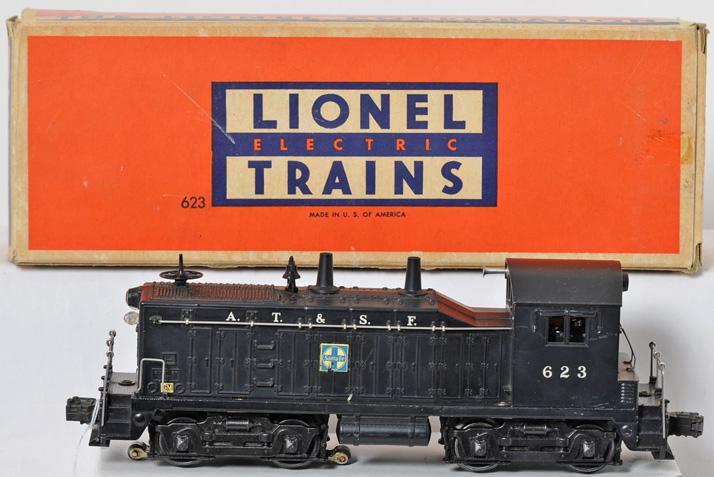 Lionel 623 Santa Fe NW-2 switcher in original box