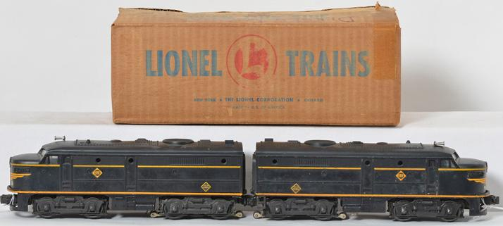Lionel 2032 Erie Alco A units in original box