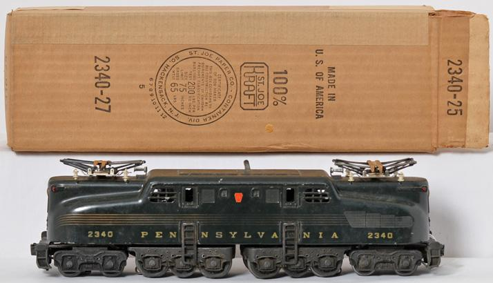 Lionel 2340 Pennsylvania GG-1 Brunswick 5-stripe electric with original box