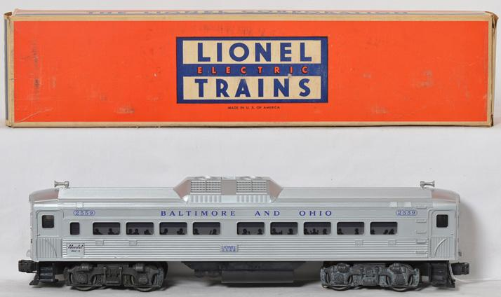 Lionel 2559 Baltimore and Ohio RDC Budd Car in original box