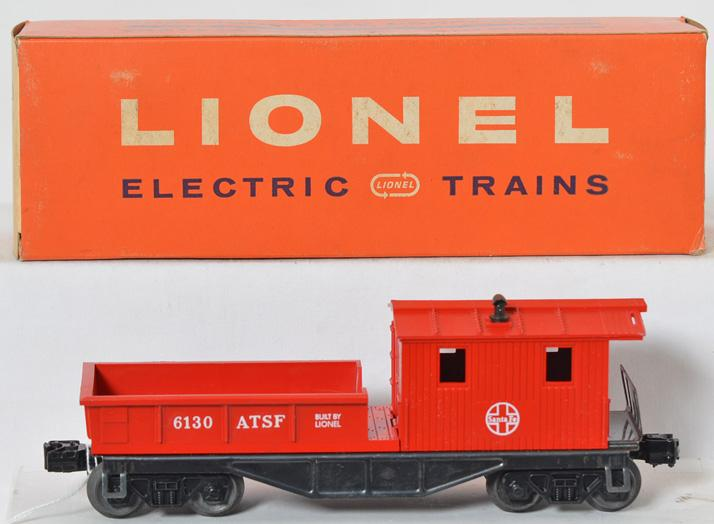 Unrun Lionel 6130 Santa Fe work caboose with original box