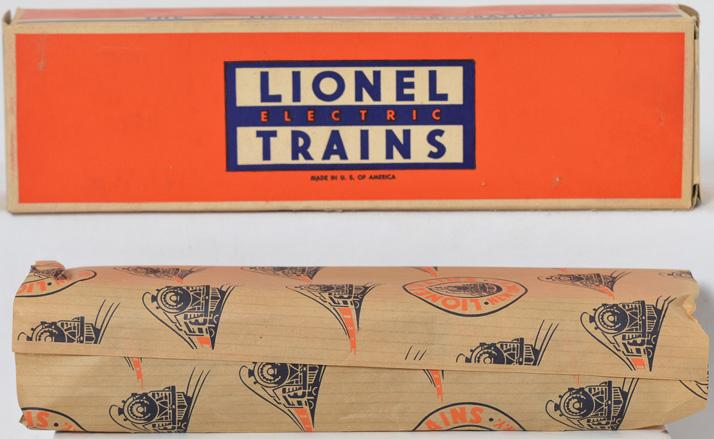 Unrun Lionel 2436 Mooseheart observation car with original box