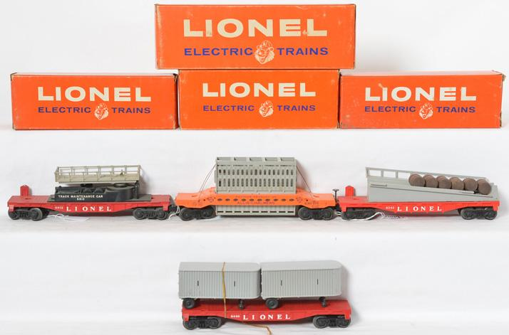 Lionel 6440, 6343, 6812, 6519 with original boxes