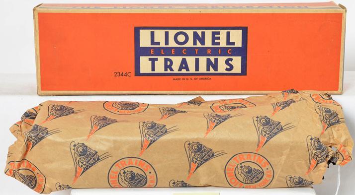 Lionel postwar 2344C New York Central F3 B unit in original box