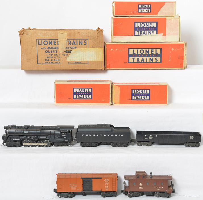 Lionel 2167WS boxed freight set, 681, 2671W