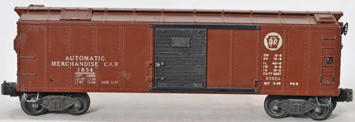Lionel Postwar O gauge 3854 Semi Scale Automatic Merchandise Car