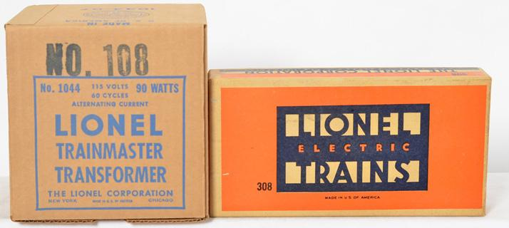 Lionel Postwar O gauge 308 Railroad Sign Set & 108 Trestle Set