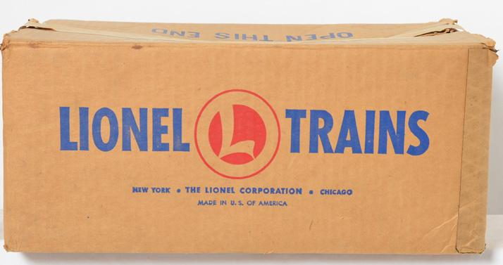 Lionel Postwar O gauge 1467W Empty Set Box from 1953 for the 2032 Erie Freight Set