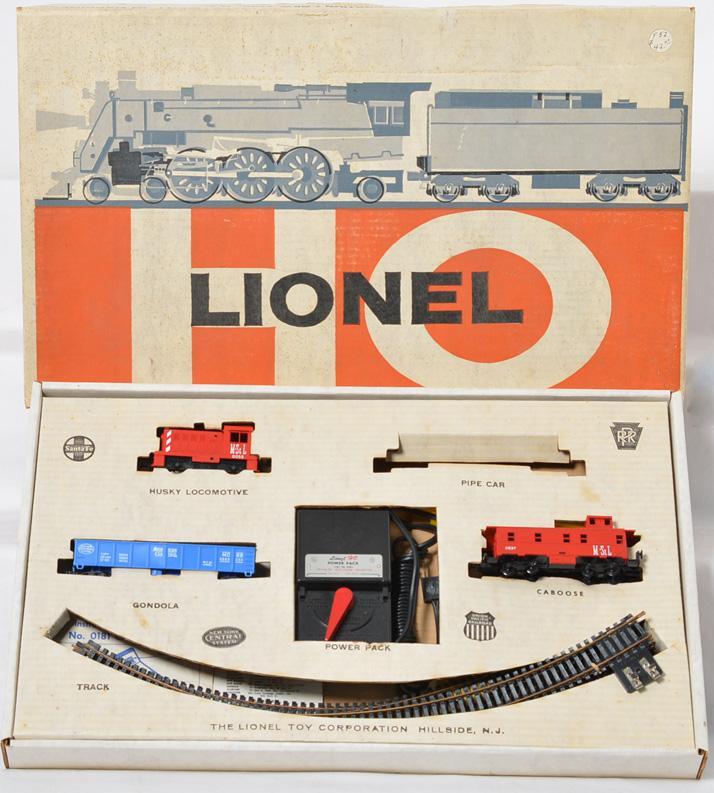 Lionel Postwar HO gauge 14240 4 Unit Husky Freight Set