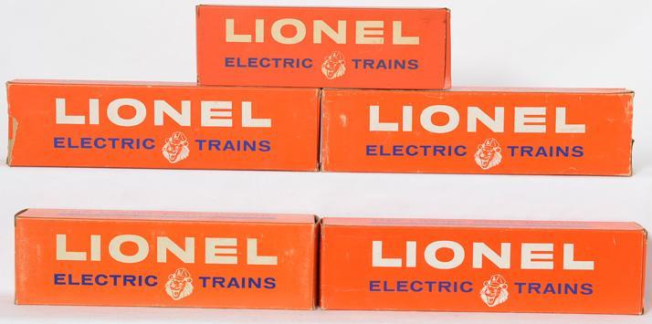 Lionel Postwar O gauge 6544 2416 218C 2412 2412 and 6544 Empty Original Boxes