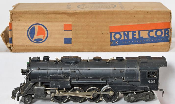 Lionel Postwar O gauge 726 Berkshire with Original Box