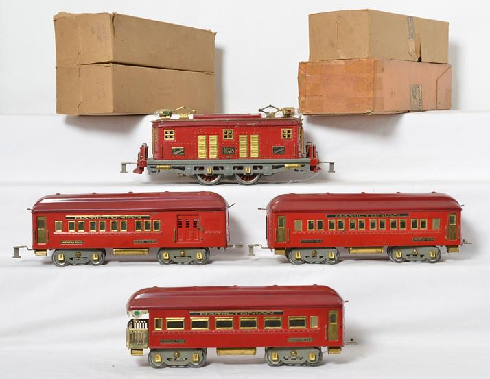 American Flyer wide gauge passenger set 4678, 4340, 4341, 4342