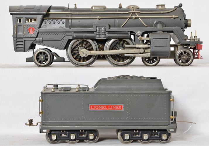 Lionel standard gauge gray 392E steam locomotive