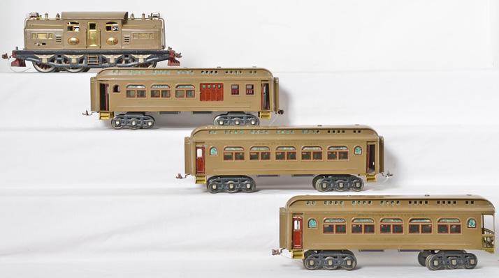 Lionel prewar Mojave passenger set 402E 418 419 490
