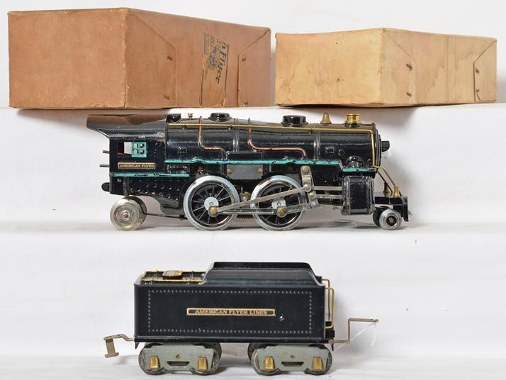 American Flyer 4672 Cast Iron Loco/Tender 4670 4671