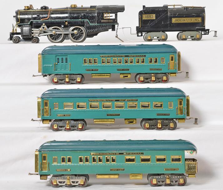 American Flyer wide gauge 4692, 4693, 4340, 4393, 4392