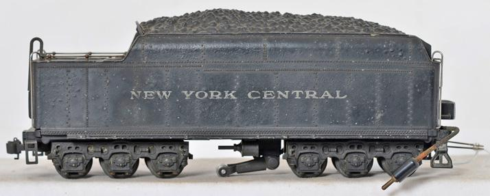 Lionel prewar O gauge 700T scale Hudson New York Central tender