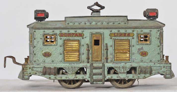 Dorfan prewar O gauge 54 die cast electric locomotive