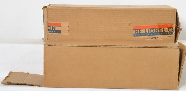Lionel Standard Gauge 400E GM Locomotive Empty Box and Insert