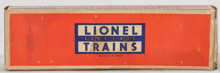 Lionel Empty Box for Postwar 3494-625 Soo Line Operating Boxcar