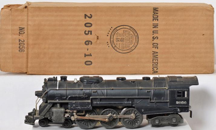Lionel Postwar 2056 Steam Locomotive with Original Box