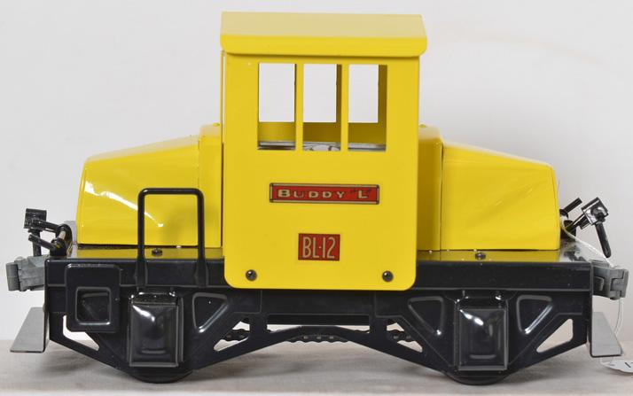 T-Reproductions Buddy L BL-12 switcher locomotive