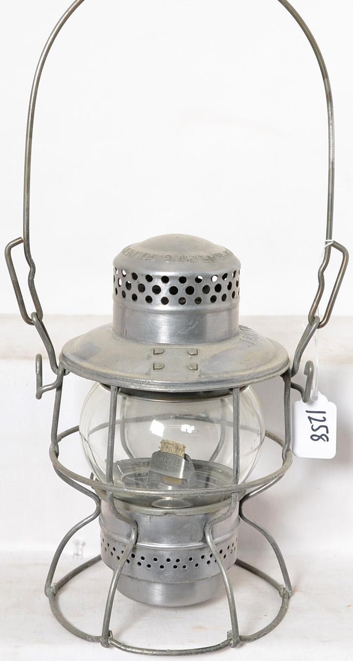 Armspear Louisville and Nashville clear globe lantern