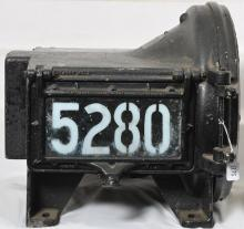Pyle National steam locomotive headlight 5280 - Potentially from NYC Hudson J1