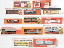 13 Lionel Freight Cars, 16972, 9854, 9282, 6401, 9149, 9122