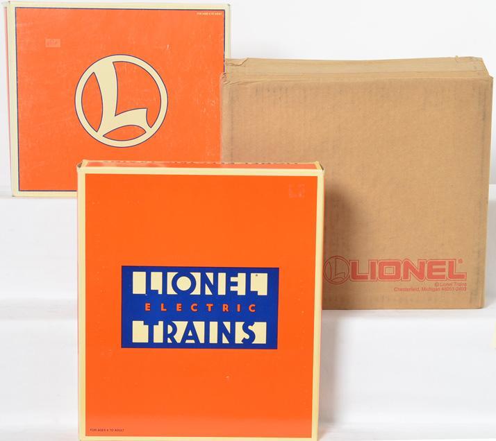 3 Lionel 6464 Boxcar Series Sets, 29209, 19257, 19266