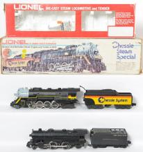 2 Lionel Steam Locos and Tender, 8003, 18602