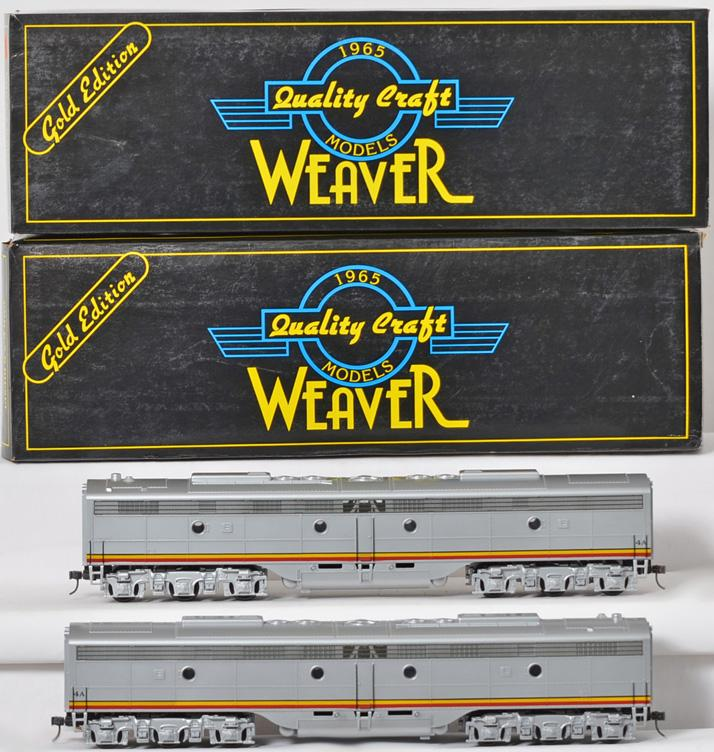 2 Weaver EMD E-8 Santa Fe War Bonnet Dummy B Units