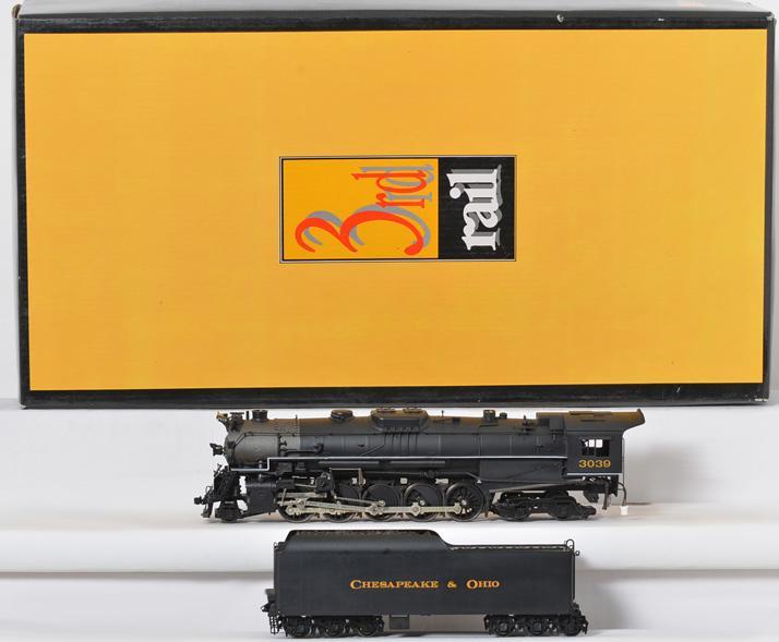 3rd Rail Chesapeake and Ohio T-1 steam locomotive