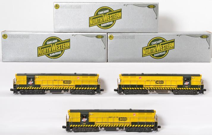 3 Lionel 8056 C&NW FM Trainmaster