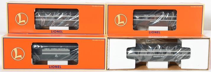 4 Lionel New York Central passenger cars 19172-75