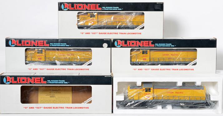 4 Lionel LOTS 10th Anniversary RS-3 Union Pacific Diesel, 18890
