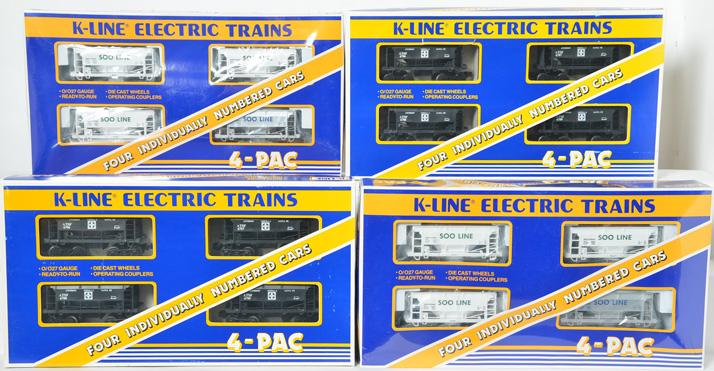 4 K Line ORE Car 4 Packs, 6706A, 6734A