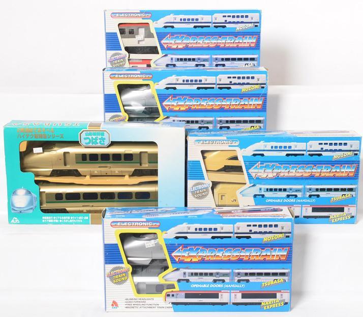 5 Express Train train sets and Tsubasa Express Train