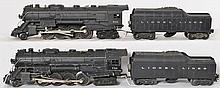 Two Lionel 736 Berkshires with 2046W Lionel Lines tenders