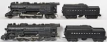 Lionel 726RR and 736 Berkshire with 2671WX Lionel Lines tender and repro Pennsylvania