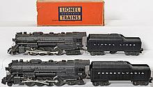 2 Lionel 736 Berkshires with 2046W-50 and 2046W tenders
