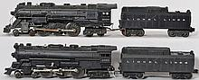Lionel 2056 and 2065 steam locomotives with Lionel Lines tenders