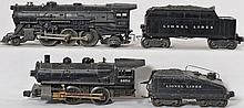 Lionel 675 and 1656 steam locomotives