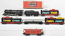 Lionel 736 Berkshire and auto loader cars and caboose 736, 2671WX, 6414, 6424, 6517