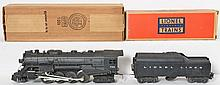 Lionel rubber stamped 736 Berkshire with 2046W Lionel Lines tender