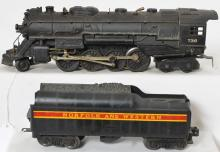 Lionel 736 Berkshire with custom Norfolk and Western tender