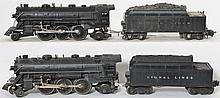 Lionel 224 and 224E steam locomotives with 6466W and 2224W tenders